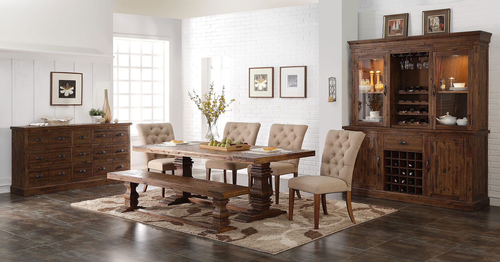 Find dining furniture in Nashville, TN & Knoxville, TN at our furniture store, a wide selection of dining furniture, wood dinettes, and more!