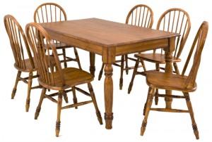 60 Farmhouse Leg Table