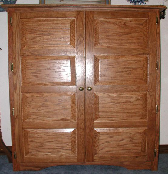 Raised Panel Oak Pie Safe Oak Factory Outlet Furniture Store
