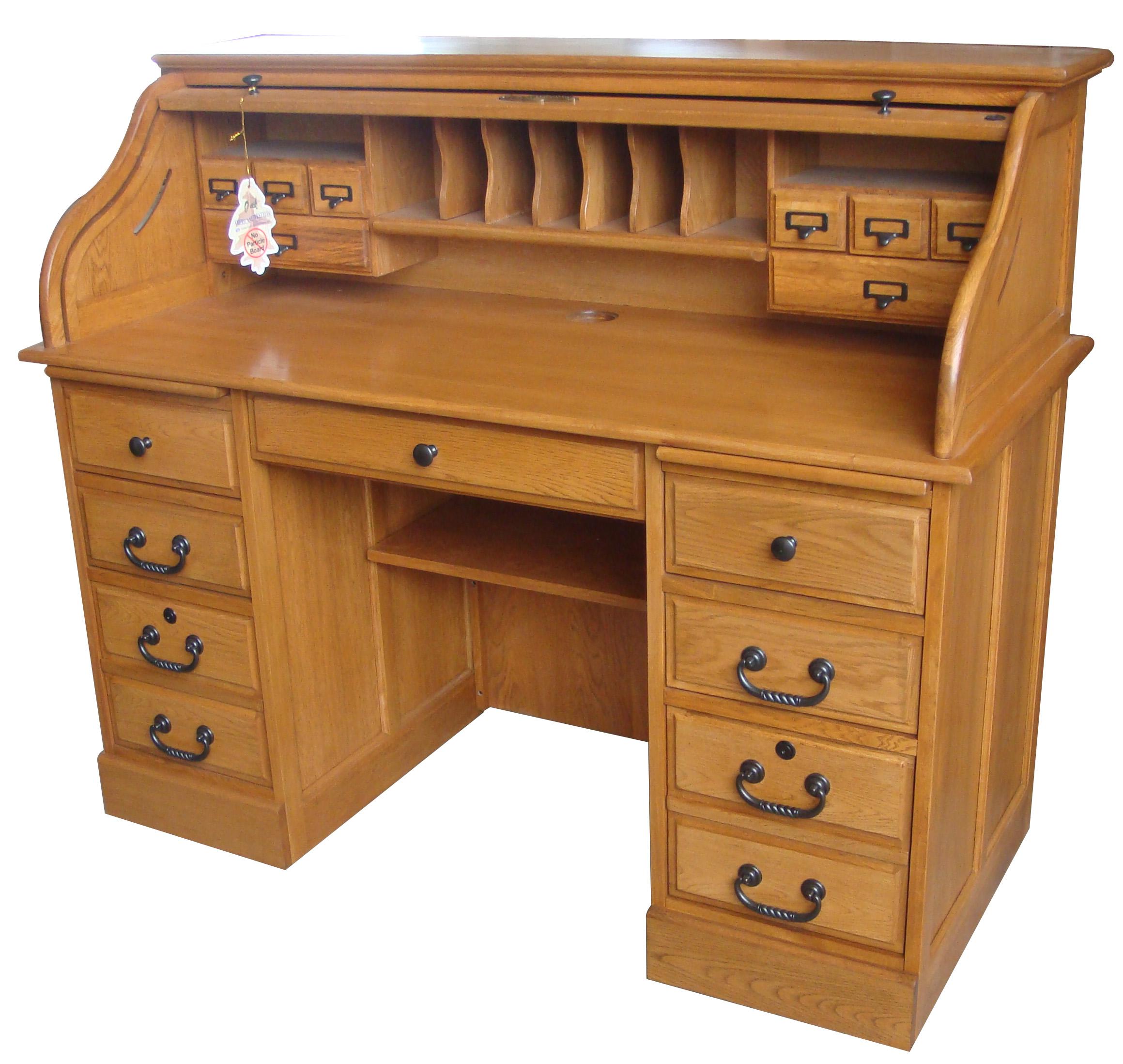 54 Roll Top Desk Oak Factory Outlet Furniture Store