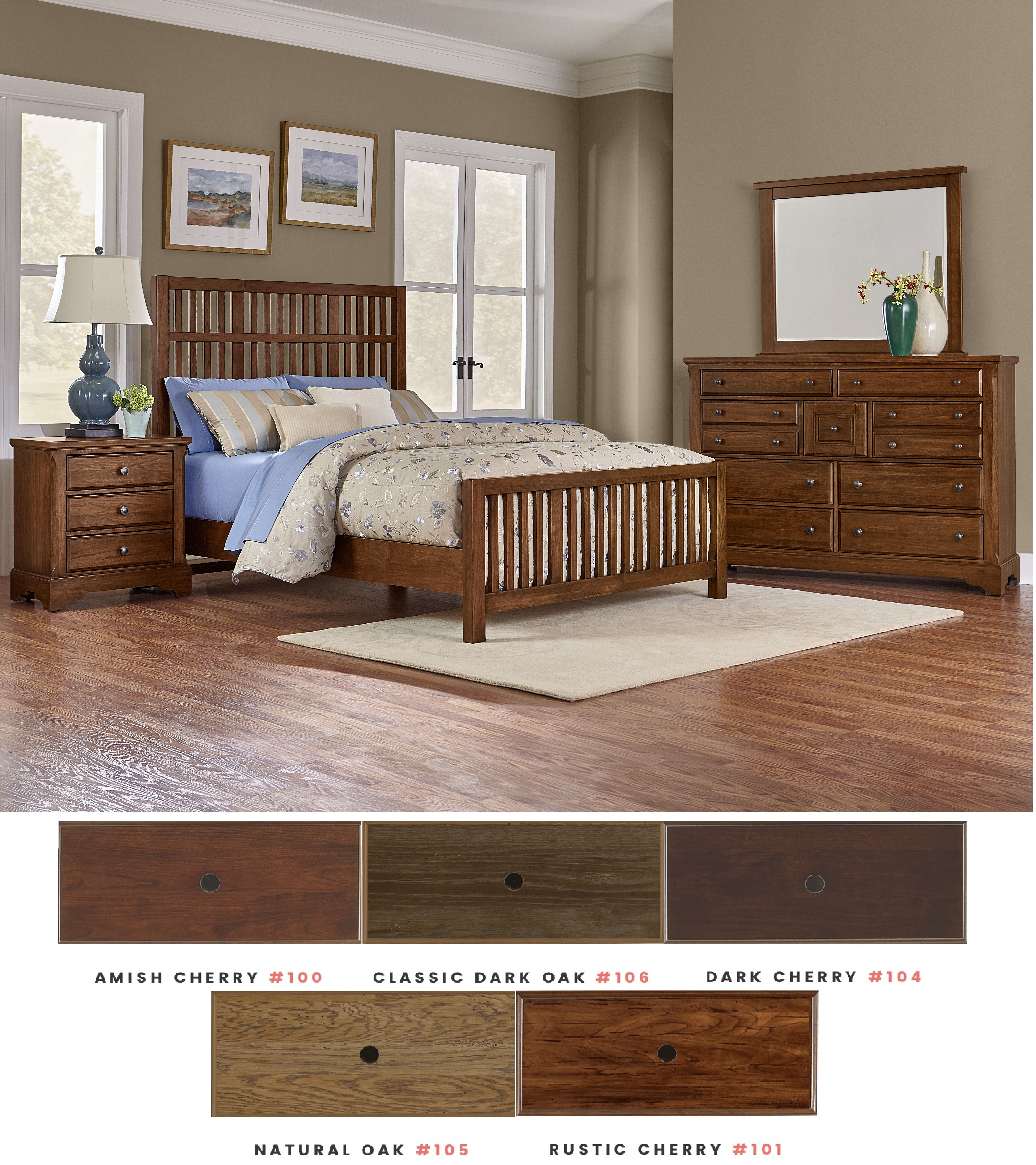 Artisan choices bedroom group oak factory outlet for Bedroom furniture knoxville tn