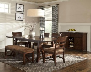 Rustic Heirloom Dining Set
