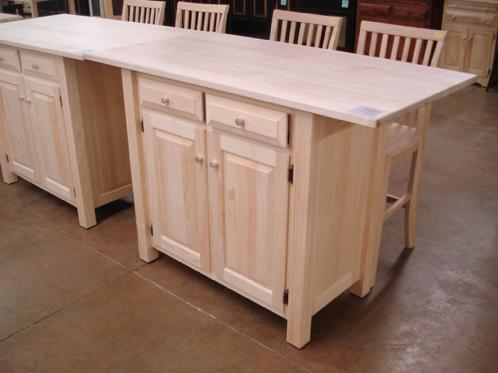 How To Finish Your Unfinished Furniture, Bare Pine Furniture