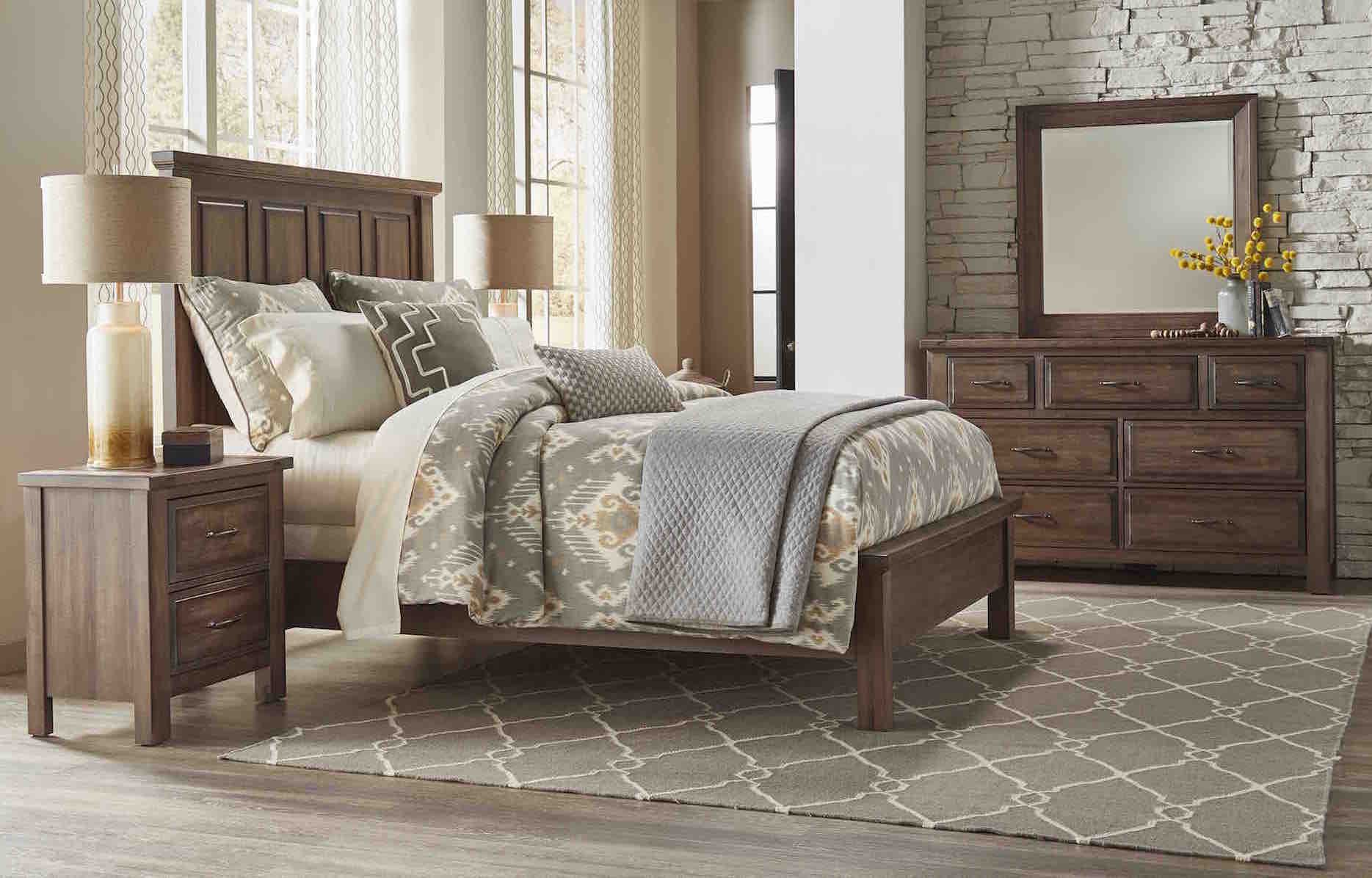 Maple Road Bedroom Group Oak Factory Outlet Furniture Store